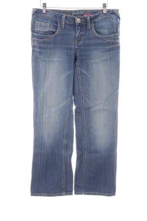 Zero 3/4 Jeans blau Street-Fashion-Look