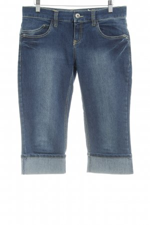 Zero 3/4 Jeans dunkelblau Casual-Look
