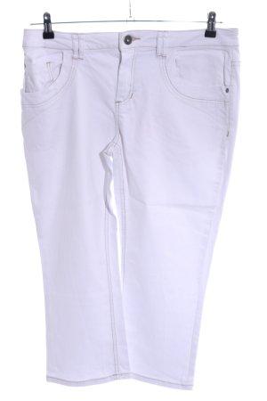 Zero 3/4 Jeans weiß Casual-Look