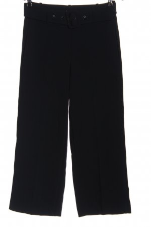 Zero Pantalon 7/8 bleu moucheté style décontracté