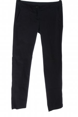 Zero Pantalon 7/8 bleu style décontracté