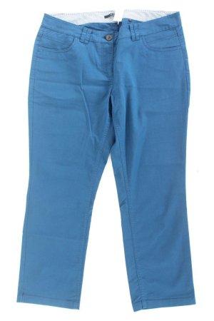 Zero Spodnie 7/8 niebieski-niebieski neonowy-ciemnoniebieski-błękitny Bawełna