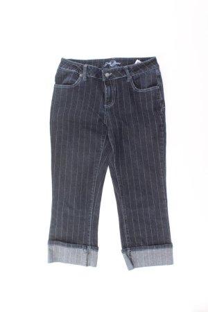 Zero 7/8 Length Trousers blue-neon blue-dark blue-azure cotton