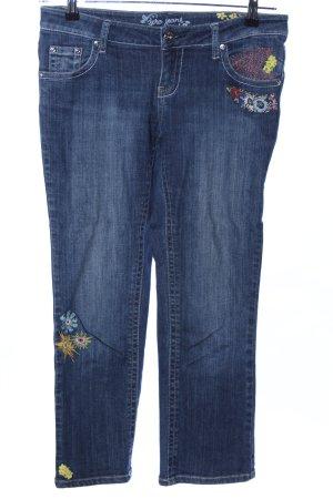 Zero 7/8 Jeans blau Casual-Look