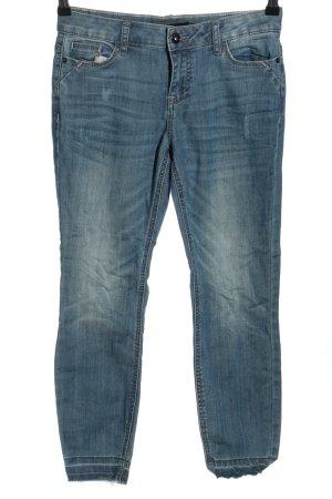 Zero Jeansy 7/8 niebieski W stylu casual