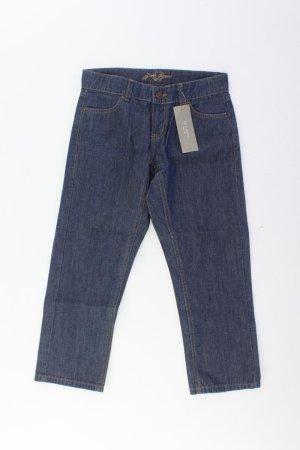 Zero 7/8-jeans blauw-neon blauw-donkerblauw-azuur Katoen