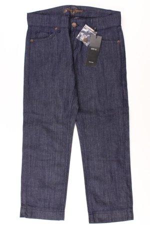 Zero Jeansy 7/8 niebieski-niebieski neonowy-ciemnoniebieski-błękitny