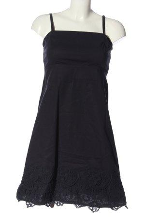 Zero Robe trapèze noir style décontracté