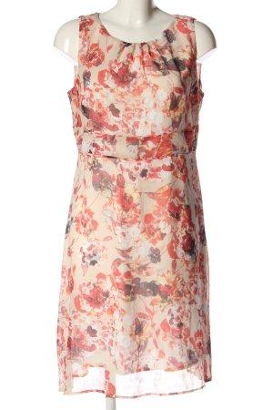 Zero A-Linien Kleid abstraktes Muster Casual-Look