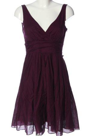 Zero A-Linien Kleid lila Casual-Look