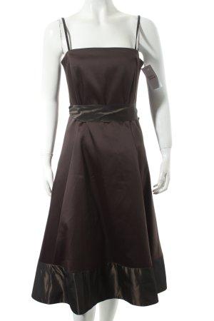 Zero A-Linien Kleid dunkelbraun Elegant