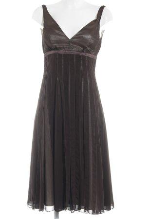 Zero Abendkleid braun-creme Elegant