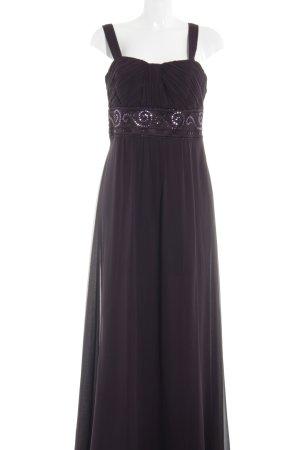 Zero Abendkleid braunviolett Elegant