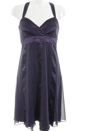 Zero Abendkleid dunkelviolett Party-Look