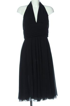 Zero Vestido de noche negro elegante
