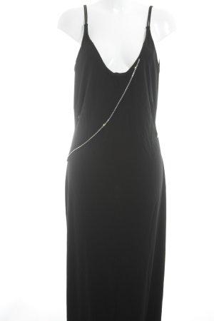 Zero Abendkleid schwarz-silberfarben Elegant