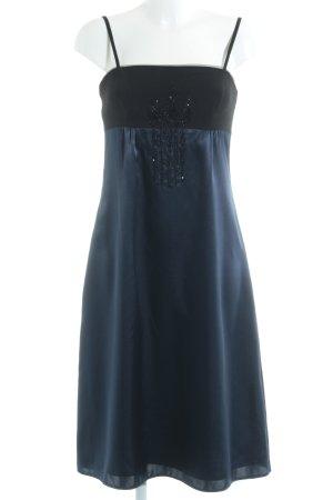 Zero Abendkleid schwarz-stahlblau Elegant