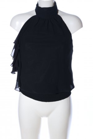 Zero Blusa sin mangas negro elegante