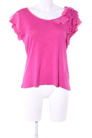Zero ärmellose Bluse pink Casual-Look