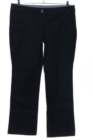 Zero Pantalón de vestir negro estilo «business»