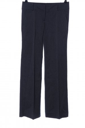 Zero Pantalón de vestir negro-gris claro Patrón de tejido estilo «business»