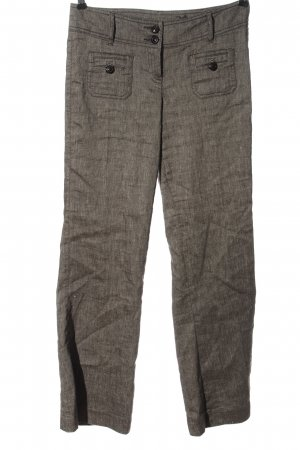 Zero Baggy Pants brown-natural white casual look