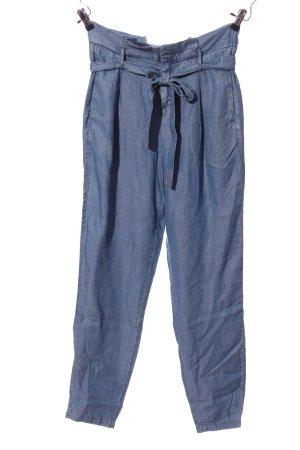 Zero Baggy broek blauw Lyocell