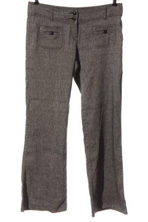 Zero Luźne spodnie jasnoszary Melanżowy W stylu casual