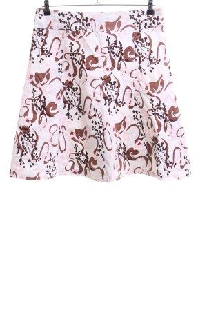 Zero Balloon Skirt allover print casual look