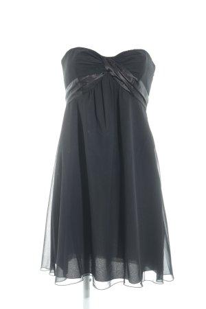 Zero Bandeaukleid schwarz Elegant