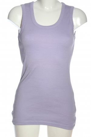 Zero Basic Top lila Casual-Look