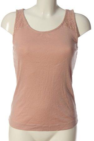 Zero Basic Top pink meliert Casual-Look