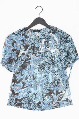 Zero Bluse Größe 34 blau aus Polyester