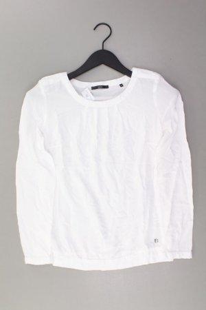 Zero Bluse Größe 34 weiß aus Viskose