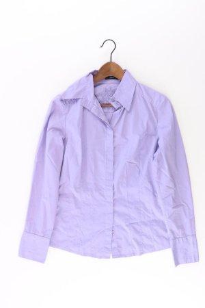 Zero Bluse Größe 38 lila aus Baumwolle