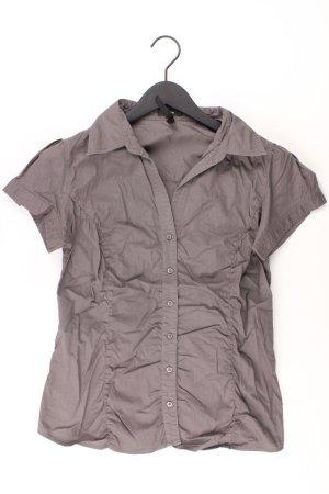 Zero Bluse Größe 40 grau aus Baumwolle
