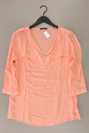 Zero Bluse Größe 44 3/4 Ärmel orange