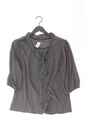 Zero Bluse Größe 44 schwarz aus Viskose