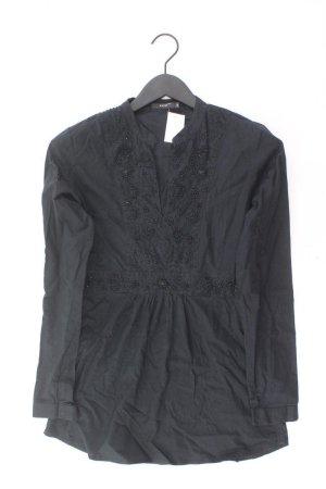 Zero Bluse Größe S blau aus Baumwolle