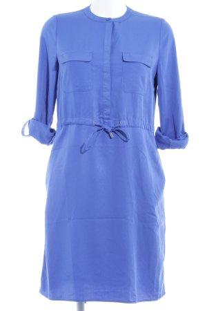Zero Blusenkleid blau Business-Look