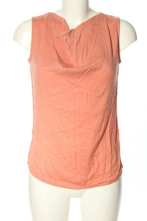 Zero Blouse topje licht Oranje casual uitstraling