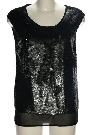 Zero Blouse topje zwart casual uitstraling