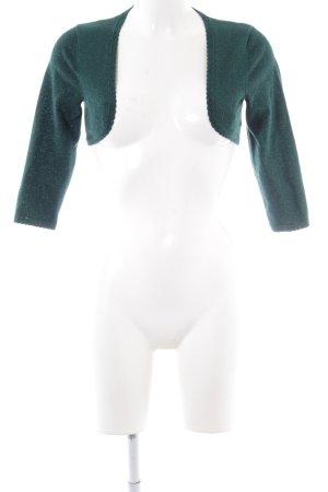 Zero Bolero grün-silberfarben Elegant