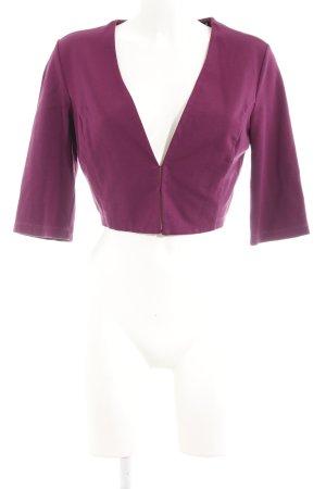 Zero Bolero violett schlichter Stil
