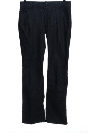 Zero Boot Cut Jeans blue mixture fibre