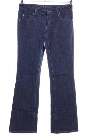 Zero Boot Cut Jeans blau Casual-Look