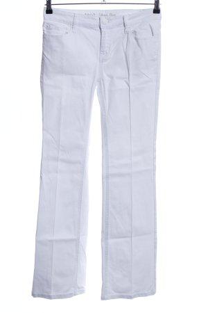 Zero Boot Cut Jeans weiß Casual-Look