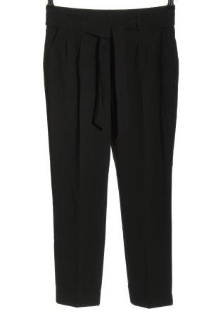 Zero Pantalón de pinza negro look casual