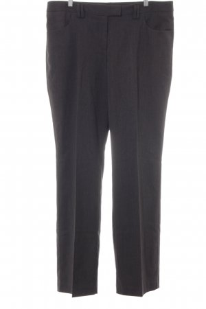 Zero Bundfaltenhose anthrazit meliert Business-Look