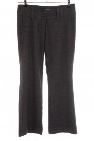 Zero Bundfaltenhose braun Webmuster Business-Look